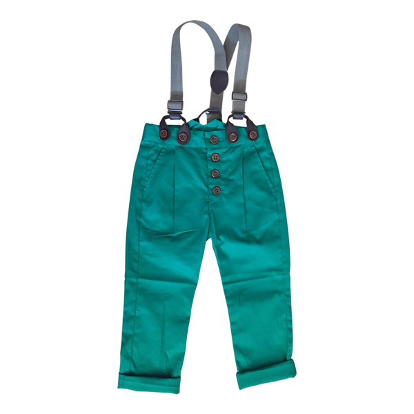 Guss Pant in Mint - Noro