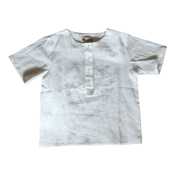 Hanoi Shirt in White - Noro