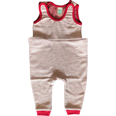 Overall Pearl Knit in Japan Red