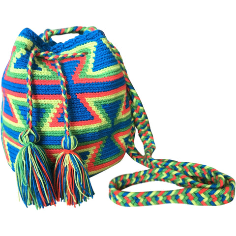 Girl's Wayuu Handcrafted Multicolored Mochila
