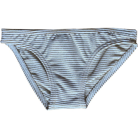 Bikini Bottom in Gold Stripes - Curumi | niko+ava