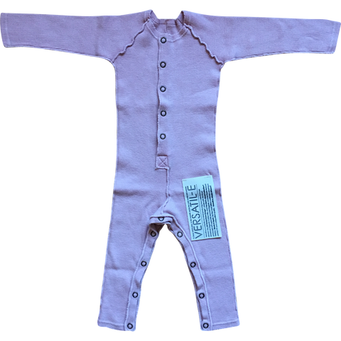 Long Sleeve Onesie in Pink