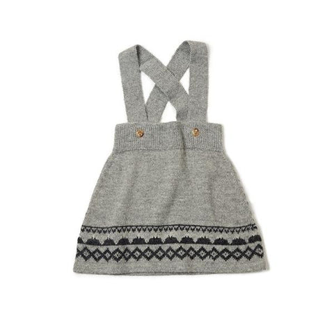 As We Grow - Mountain Skirt in Grey