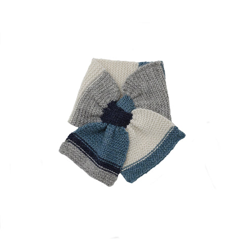 Handknit Scarf in Blue - As We Grow