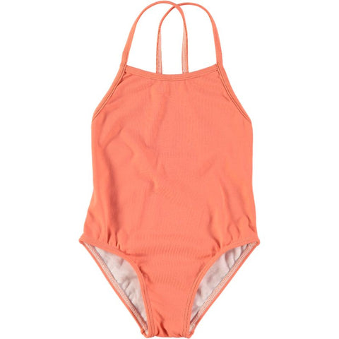 Swimsuit in Peach - Curumi | niko+ava