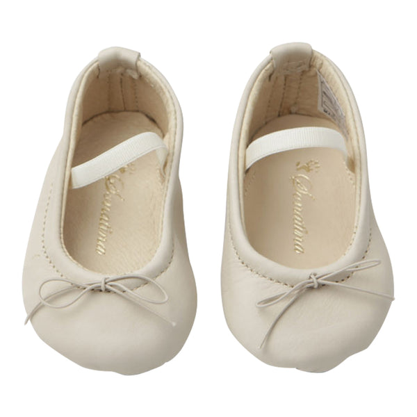 Pampered Shoes in Ivory Leather