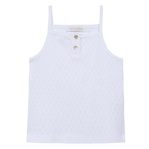Phoque Tank Top in White