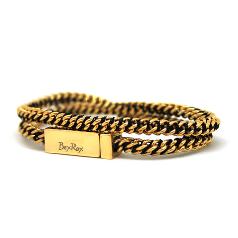 Friendship Bracelet in Gold