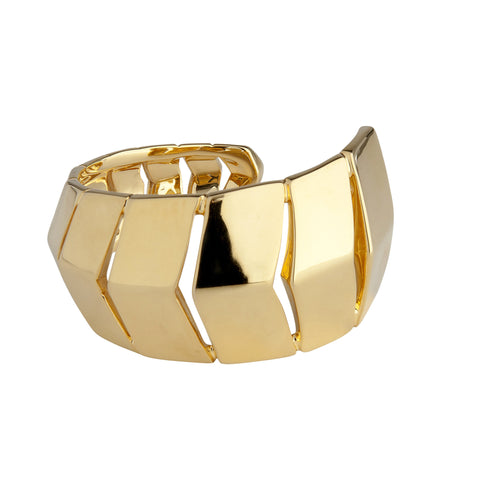 Tara Bangle in Gold