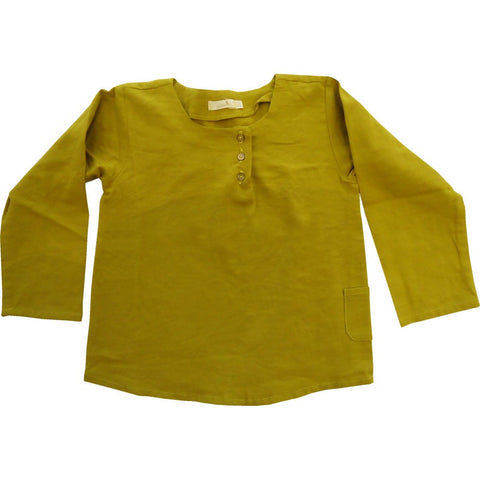 Cotton Mustard Shirt