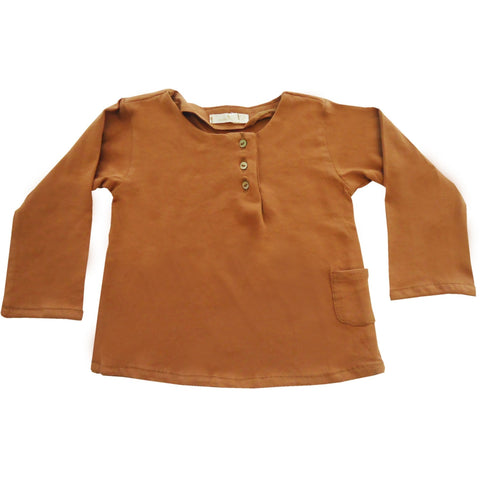 Cotton Rust Shirt