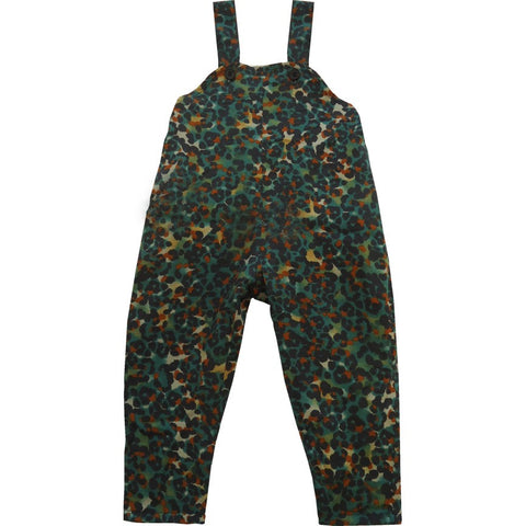 Autumn Print Dungaree