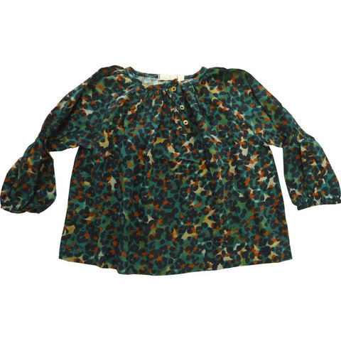 Autumn Print Blouse