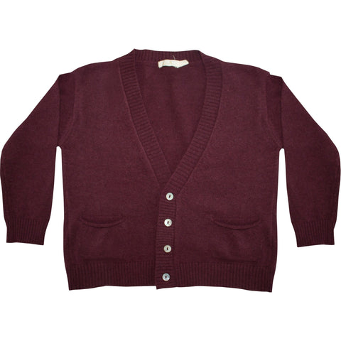 Bordeaux Knitted Cardigan