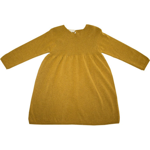 Knitted Mustard Dress