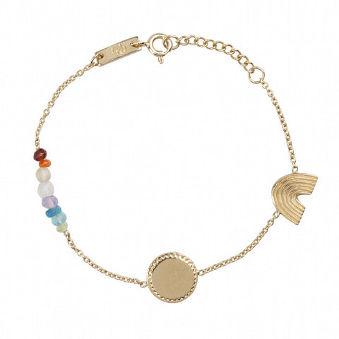 She Is A Rainbow Daughter Bracelet