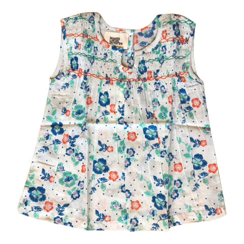 Women's Floral Print Smocky Top