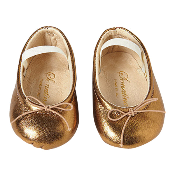 Pampered Shoes in Bronze Leather