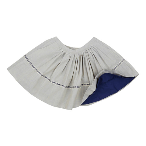 Tilde Skirt in Light Grey