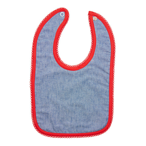 Bib in a Box in Chambray - Annaliv