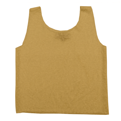 Women's Linen Tank Top in Sand
