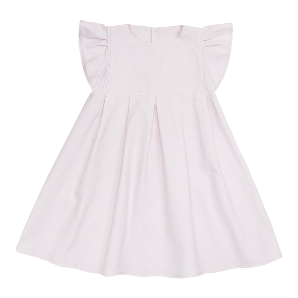 Dress Dora Linette in Rose - Macarons