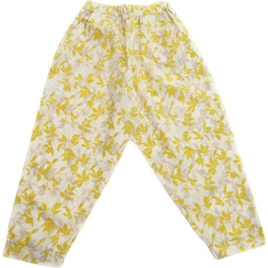 Druze Pant in Yellow Bamboo Print - Noro