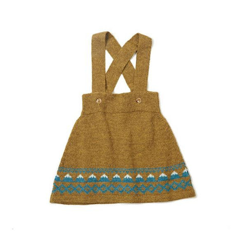 As We Grow - Mountain Skirt in Mustard