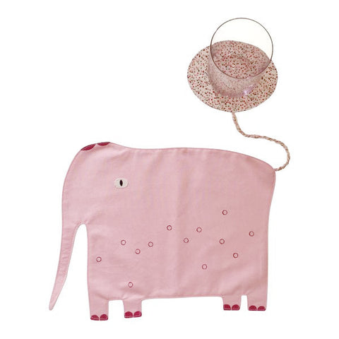Elephant Placemat in Pink - Cocon