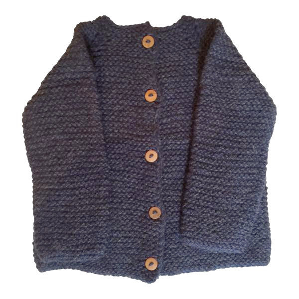 La Paz Cardigan in Blue
