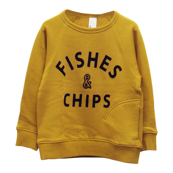 Fishes & Chips Sweatshirt - Arch&Line