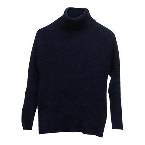 Cotton Knit Turtle in Navy - Arch&Line