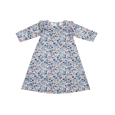 Ella Dress in Flower Print - Pierrot la Lune