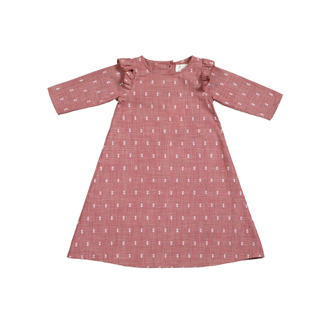 Ella Dress in Ikat - Pierrot la Lune