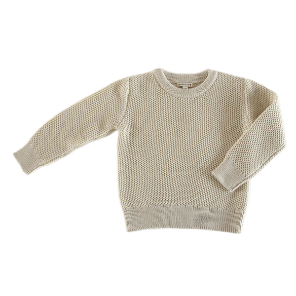 Honey Sweater in Ivory - Esencia