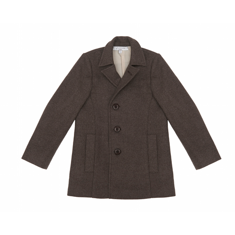 Cashmere Coat in Brown - Paade Mode