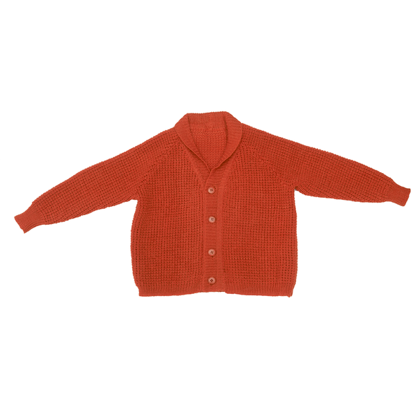 Handknit Cardigan in Rowanberry - Paade Mode