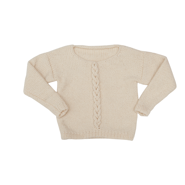 Handknit Twine Sweater - Paade Mode