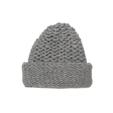 Handknit Pebbles Hat in Grey - Paade Mode