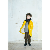 Cashmere Coat in Mustard - Paade Mode