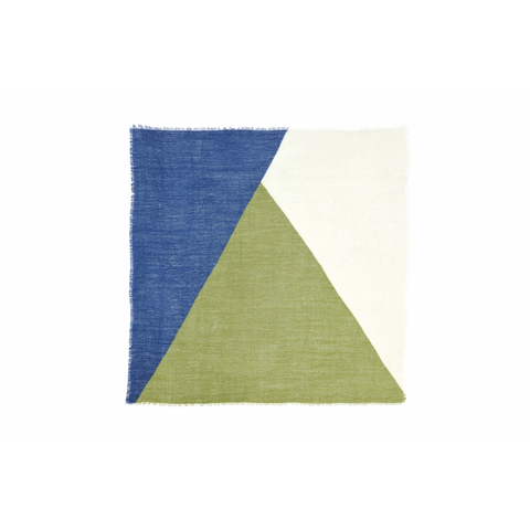 Design 112 Scarf in Verdure/Navy