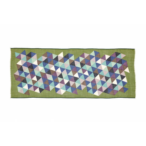 Design 118 Scarf in Olive Green