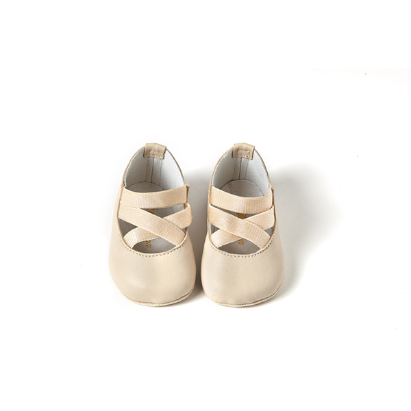 Audry Shoes in Ivory Leather