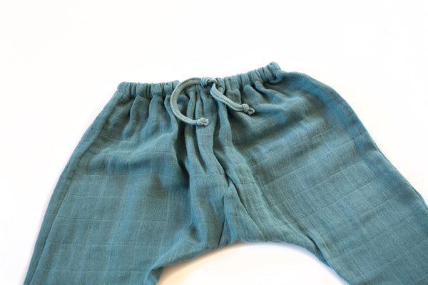 Sarouel Pants in Blue - Moumout | niko+ava