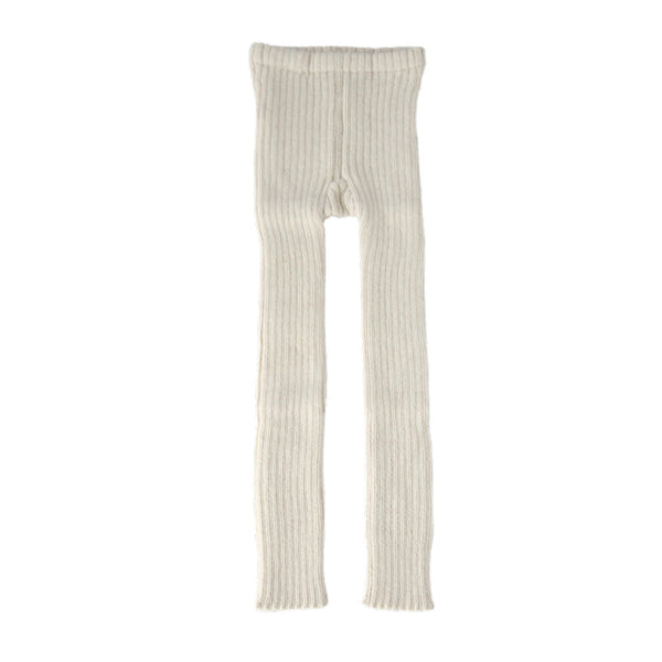 Rib Leggings in Ivory