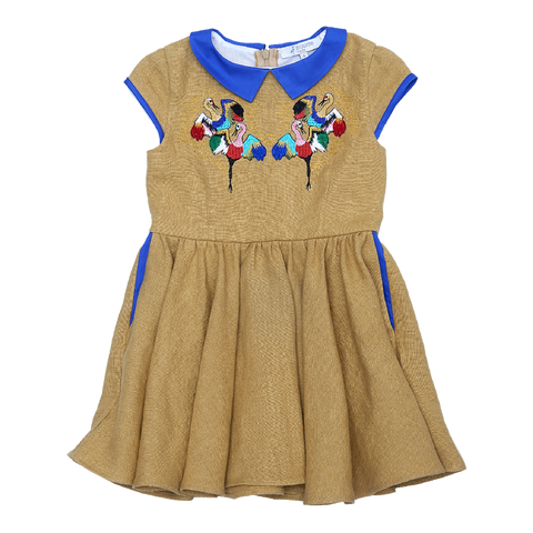 Crane Dress in Gold - Paade Mode
