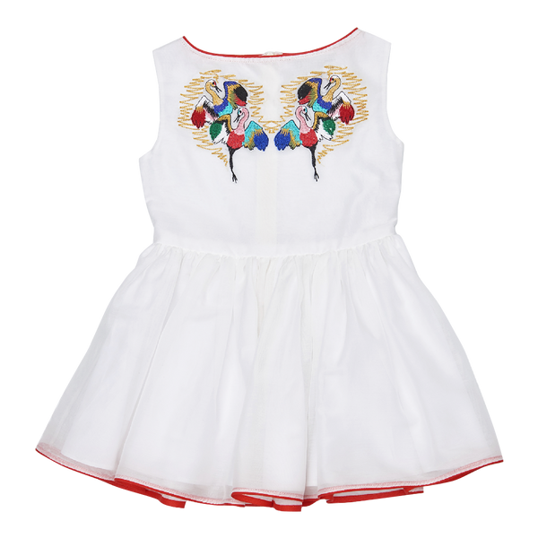 Crane Dress in White - Paade Mode