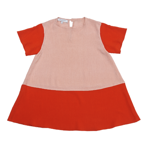 Crepe Tunic in Pink - Paade Mode