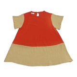 Crepe Tunic in Coral - Paade Mode