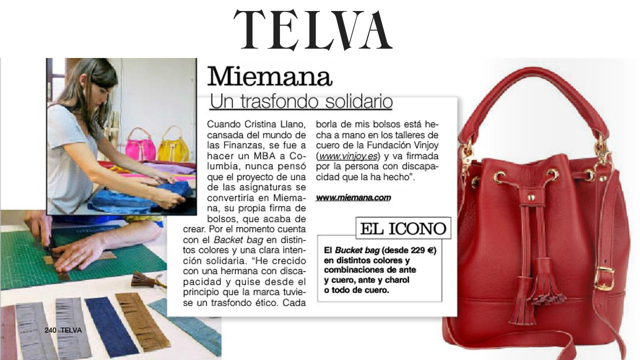 Thank you TELVA for this beautiful article!
